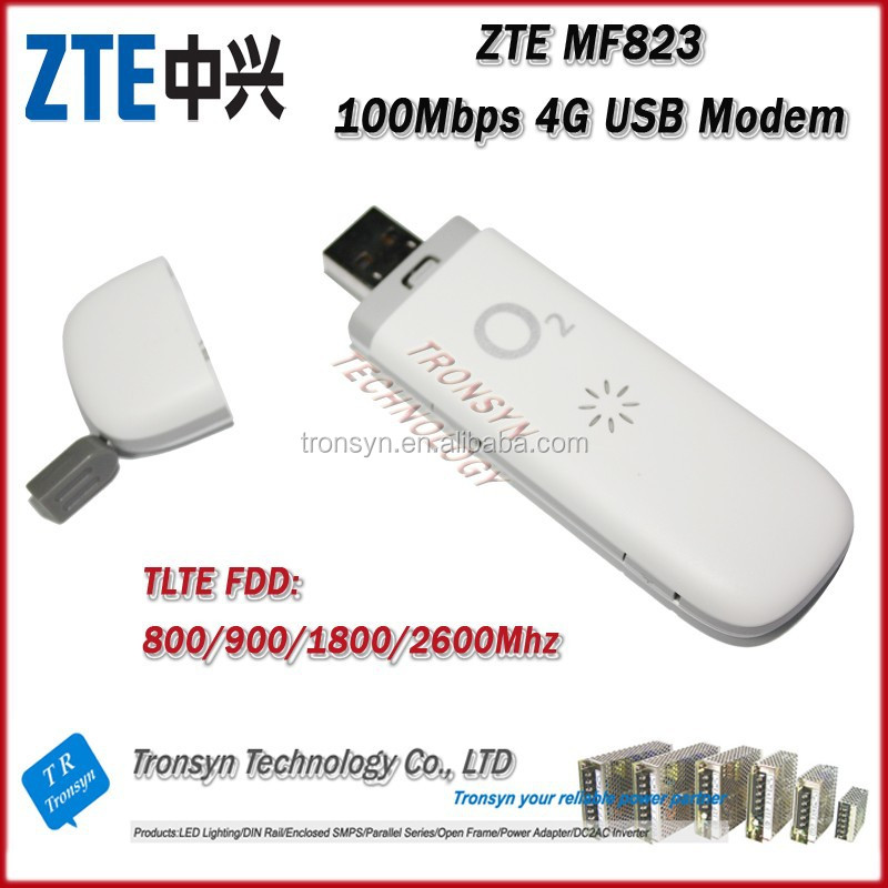 Cheapest Original Unlock 100Mbps ZTE MF823 4G Wireless Data Card And 4G LTE USB Modem