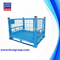 metal stillages/collapsible steel pallet/stackable steel cages exporting to Japan&America