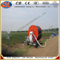 Agricultural Water Rain Gun Hose Reel Irrigation System for Farm Field