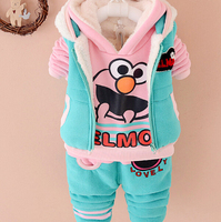 S11989A high end childrens hoodies top brands winter clothing for kids