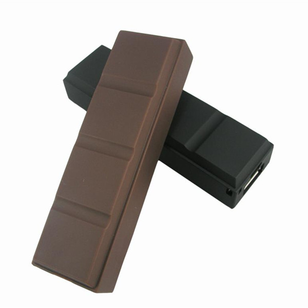 Chocolate Style Power Bank 2600mAh Portable External Battery Charger Powerbank Pack For SAMSUNG IPHONE LG HTC