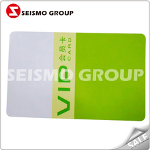 top grade printable pvc plastic magnetic card business card printing plastic cards
