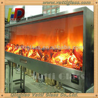 Heat Resistant Fire Ceramic Glass Plate