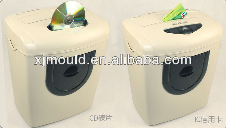 Plastic paper shredder machine part mould manufacturer in China,zhejiang