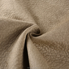 100%polyester sofa elephant suede velvet knit fabric made in China