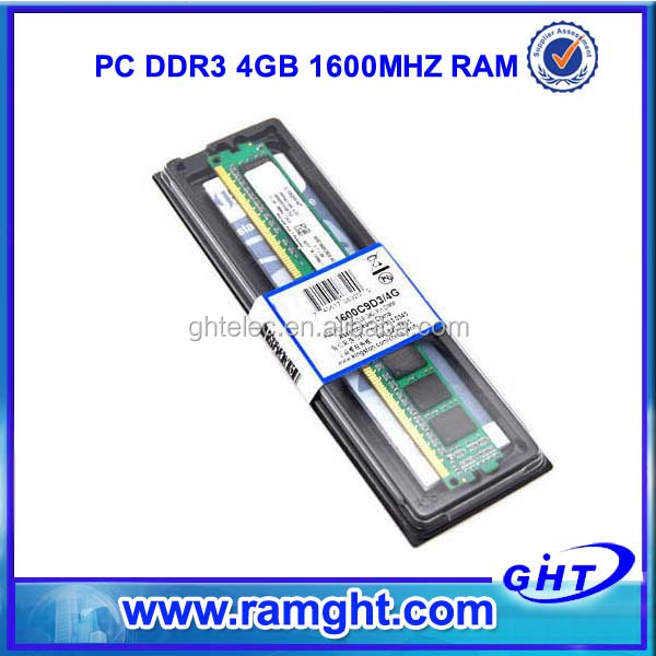 China alibaba ETT Original chips ddr3 4gb 1600 accept paypal/escrow