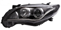 high performance modified CAR HEAD LAMP used for TOYOTA COROLLA 2011