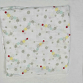 100% Famicheer Organic Cotton blanket baby muslin wraps