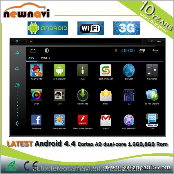 android touch screen 2 din 6.8 inch in dash detachable tablet car dvd player with 3g wifi vcd mp3 mp4 camera gps