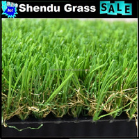 artificial grass turf for garden with anti-uv infilling