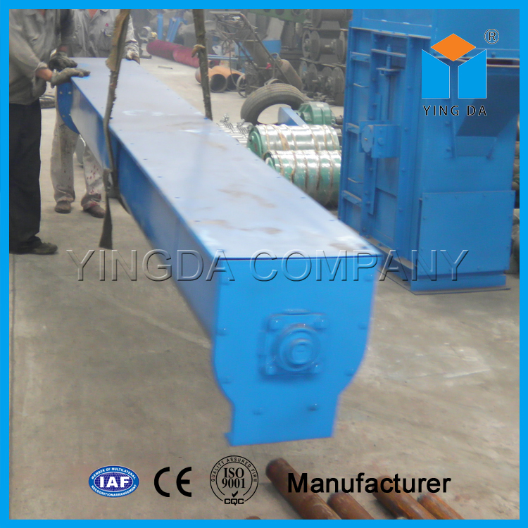 Small screw conveyor for sawdust, rice hull, powder