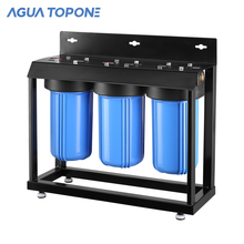 AGUA TOPONE 3 stages 10inch BIG blue water filter <strong>carbon</strong>