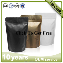 Free samples Accept Custom Order and Biodegrada Feature standup paper bag