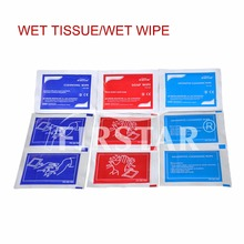 FDA-approved plastic container for wet wipes first aid product