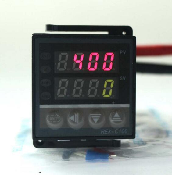 REX-C100 Relay Output PID Thermomstat Dual Digital Temperature <strong>Controller</strong>