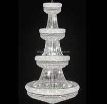 Modern egyptian style lamps big crystal chandelier hotel lighting