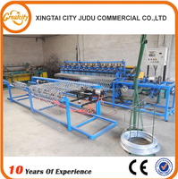 full automatic chain link fence machine,wire chain crochet machine,automatic scourer machine