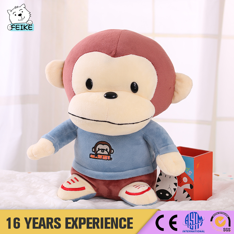 New Product 2017 Talking And Walking And Talking Monkey Plush Toy
