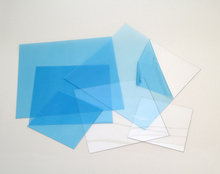 blue printing film Transparent rigid PVC Normal Clear Film
