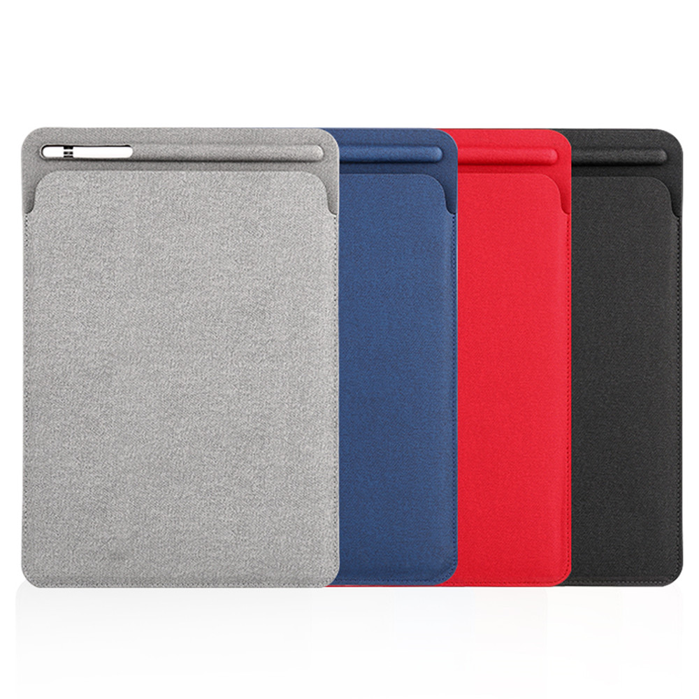 Chinese Supplier High Quality Frosted Leather Cases For <strong>iPad</strong> 9.7 & <strong>iPad</strong> Pro 10.5 inch With Pencil Holder