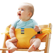 New design Portable Travel High Chair Booster Baby Seat with straps Toddler Safety Harness Baby feeding the strap