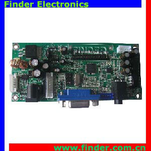 PC Board is designed to support dual/single LVDS LCD