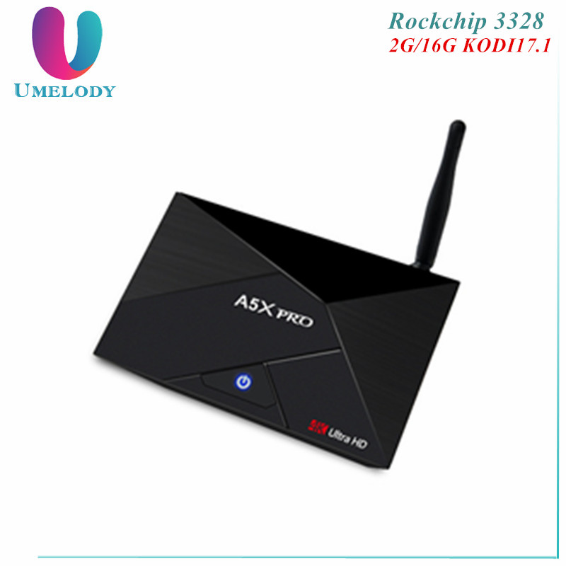 Umelody Live Streaming Tv Box 4K Ultra Hd H96 Tv Box Smart Tv 4K A5X Pro