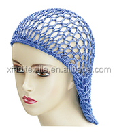 custom cotton knitted muslim cap for women