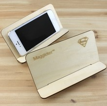 Wholesale high quality wood mobile phone holder