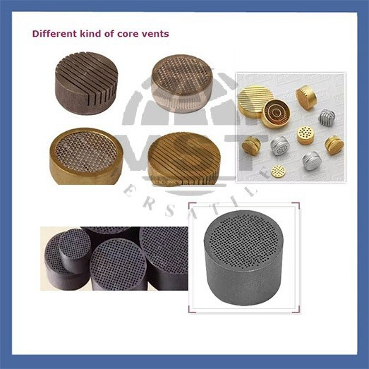 Eps mould spare parts core vents