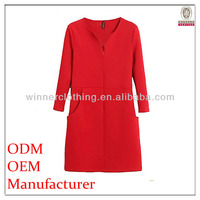 2014 new fashion casual OEM sex hot red short dress