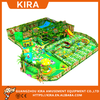 Residental eco-friendly indoor playground equipment kids mini playground
