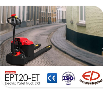 2017 hot sale EP manufacture new star 2 ton Electric Pallet Truck EPT20-ET for complex environment high obstacle