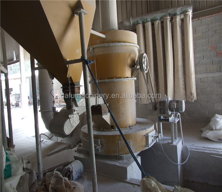 Building Material Fine Gypsum Powder / Plaster Of Paris Making Machinery