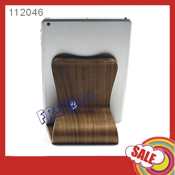 Wood stand table holder for ipad
