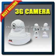 3G video alarm system can work with portable gas sensor,smoke detector