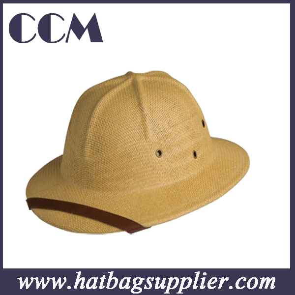 Straw Pitch Helmet / Safari Hat helmet straw hat