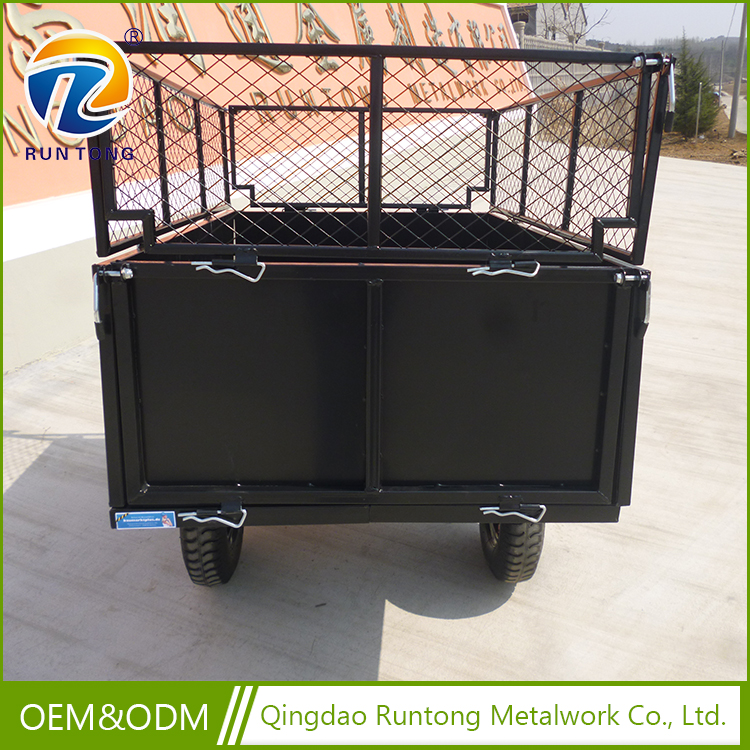 China Manufacture Beach Cart Steel Mesh Garden Tool Cart