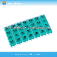 plastic 28 day pill box wholesale
