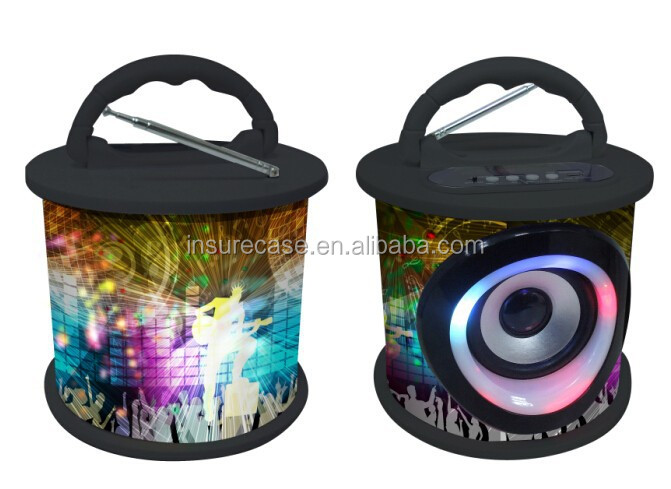 2015 New design hot sale cheap professional speaker with FM radio