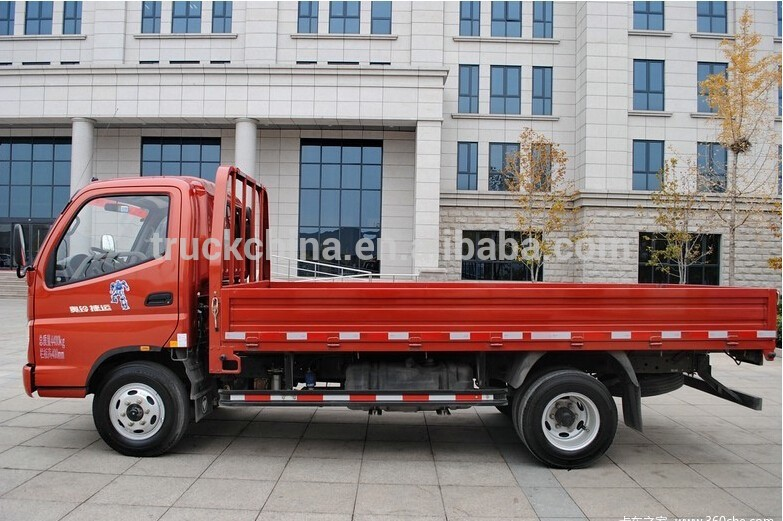 Low Foton Cargo Truck Price For Sale