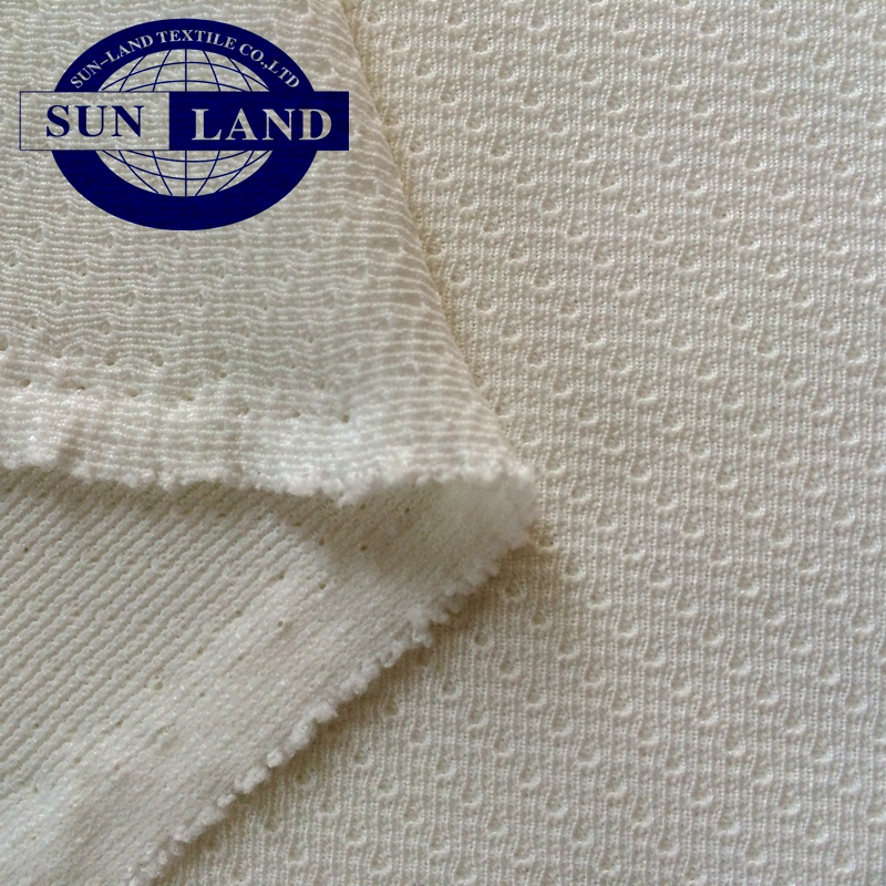 100% polyester knit waterproof mesh fabric for outdoor garment