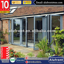 Canada standard aluminum bi-folding door with german hardware this is the high quality_you are looking for