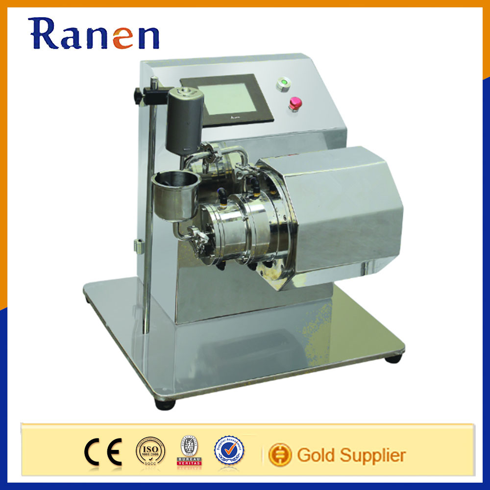 Lab Extra Fine Particles Jet Ink Nano Mill Machine