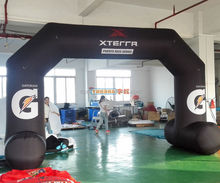 5x3m freestanding inflatable racing run arch for event