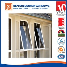 New design soundproof awning prefabricated aluminum windows and doors