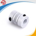OD25mm flexible spring encoder shaft coupling