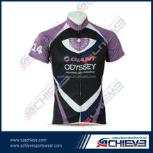 Supply blank custom sublimated cycling jersey