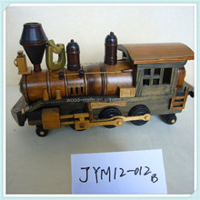 vitage collectable model train engine for home deco