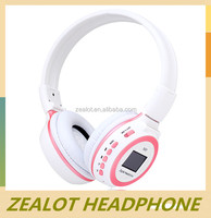 2014 hot selling fashionable cheap high quality 40mm headphone speaker&headphone jack dust cover&fm headphones